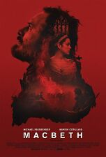 Macbeth Movie Poster (24x36) - Michael Fassbender, Elizabeth Debicki v1