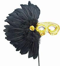 Aztec Princess Masquerade Ball Wand Party Mask