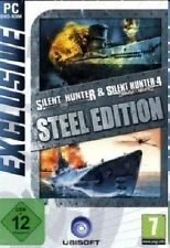 SILENT HUNTER 3 & 4 STEEL EDITION (PC) - NEU & SOFORT