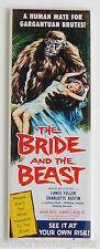 Bride of the Beast FRIDGE MAGNET insert movie poster horror wedding