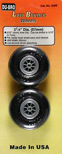 NEW Dubro Low-Bounce Smooth Wheels 2-1/4  (2) 225R