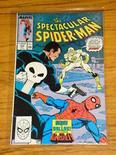 SPIDERMAN SPECTACULAR #143 VOL1 MARVEL PUNISHER APPS OCTOBER 1988