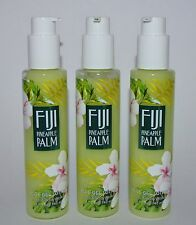 LOT OF 3 BATH & BODY WORKS FIJI PINEAPPLE PALM ALOE GEL LOTION PUMP CREAM 4.7 OZ