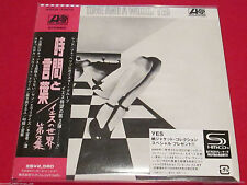 YES - TIME AND A WORD [Bonus Tracks] - JAPAN MINI LP SHM CD - WPCR-13513