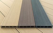 Composite Decking Boards, 2.2m long 150x25mm WPC decking at £9.90 each inc. VAT