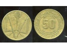 ALGERIE  ALGERIA  50 centimes 1973     ( etat )