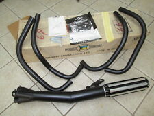 NOS Moriwaki 4 into 1 Exhaust Silencer & Pipes Set 1982 Kawasaki KZ750 R1 GPZ750