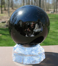 Black Tourmaline Sphere / Crystal Ball ~ Madagascar
