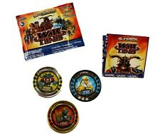 War Titans Slingers Medallions Booster pack New & sealed
