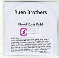 (EN374) Ruen Brothers, Blood Runs Wild - DJ CD