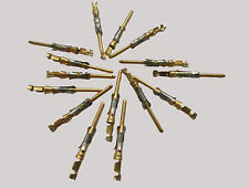 15 x Gold Plated Contact, Pin, 24-20 AWG, MPN: 66103-4 TE CONNECTIVITY/AMP