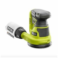 Ryobi Random Orbit Sander Cordless Battery Orbital Palm Hand Disc Wood Tool 18v