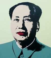 ANDY WARHOL MAO TSE TUNG YELLOW SUNDAY B.MORNING 毛澤東 zedong COA