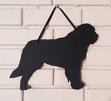 Saint Bernard Dog Handmade Chalkboard St. Bernard Shadow Silhouette