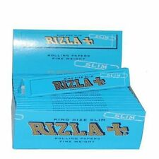 Rizla Blue King Size Slim Cigarette Rolling Papers 10 Booklets of Finest Quality