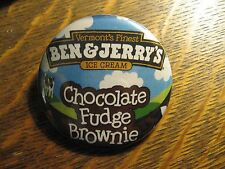 Ben & Jerry's Chocolate Fudge Brownie Ice Cream Advertisement Pocket Mirror