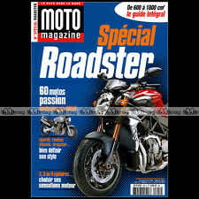 MOTO MAGAZINE HS 204 SPECIAL ROADSTER TRIUMPH SPEED FOUR DUCATI 916 MONSTER S4