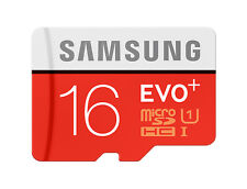 Samsung 16GB Micro SD Card SDHC EVO+ 80MB/s UHS-I Class 10 TF Memory Card NEW