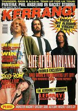 Nirvana on Kerrang Cover 1995      Skid Row      Lemmy     Monster Magnet