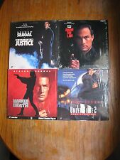 STEVEN SEGAL LASERDISC LOT OF 4 VG+ TESTED MARTIAL ARTS ACTION MARKED FOR DEATH
