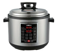 GoWISE USA GW22636 8-in-1 Programmable Electric Pressure Cooker (12QT)