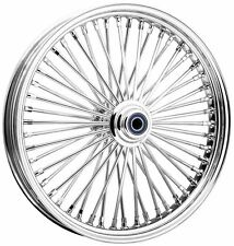 Omega Chrome 50 Spoke 18x4.25 Rear Wheel, Color: Chrome, Position: Rear 67-7175