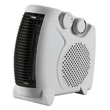 2000W 2KW/1KW PORTABLE FLOOR SILENT ELECTRIC FAN HEATER HOT & COLD UK STOCK
