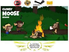 Clumsy Moose Season PC & Mac Digital STEAM KEY - Region Free