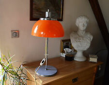Authentic-Harvey Guzzini Desk Vintage Lamp Mid Century 1960's Modern Design