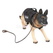 1/6 scale Plastic WWII German Attack Police Dog shepherd action figure Toy