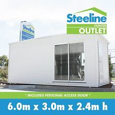 Brand New Colorbond Kit Shed - Personal Access Door