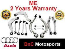 ~SUSPENSION CONTROL ARMS WISHBONE SET Audi A4 B8 A5 8TA 8T3 Q5 8R FRONT Rear #