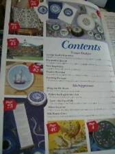 New Stitches UK Magazine #47 Silk Supplement, Lambs, Sail Boat Elizabethan Black