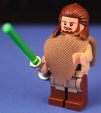 LEGO® brick STAR WARS™ QUI GON JINN™ 75096 New Minifigure Poncho Cape & Ponytail