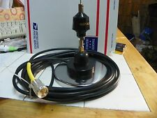 """CB ANTENNA W 5"""" MAGNET MOBILE-W  SPECIAL RG8X COAX  18 FT TRIM TO CHANNEL 19"""