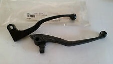 COPPIA LEVE CARBON LOOK YAMAHA R6 BRAKE CLUTCH LEVER