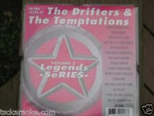 Drifters TEMPTATIONS Legends Karaoke CDG 16 Sg MY GIRL Cloud Nine UP ON THE ROOF