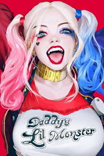 """064 Suicide Squad - 2016 Film Task Force X Movie 14""""x21"""" Poster"""