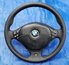 BMW E39 E36 MTech Multifunc NEW Leather TriColor Steering Wheel + Clockspring