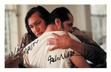 ONE FLEW OVER THE CUCKOOS NEST - NICHOLSON & SAMPSON SIGNED A4 PP POSTER PHOTO