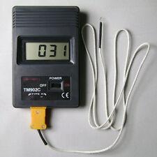 TM902C Digital LCD Thermometer Temperature Reader Meter Sensor  K Type Probe CN