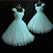 Vintage 1950' Tea Length Wedding Dresses Short Bridal Gowns Plus Size
