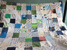 Handmade Patchwork Memory/ keepsake Throw/ Blanket