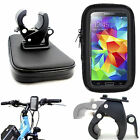 Motorcycle Bicycle 360 Mount Holder Cradle Waterproof Bag Pouch Case For Samsung