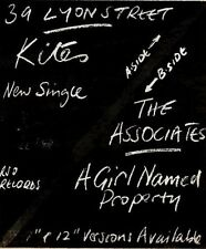 30/5/81PGN46 ADVERT: THE ASSOCIATES THE NEW SINGLE KITES OUT NOW 6X5