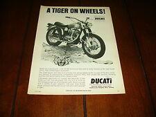 1969 DUCATI 350 SSS  ***ORIGINAL VINTAGE MOTORCYCLE AD***