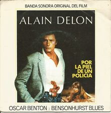 OST POR LA PIEL DE UN POLICIA (ALAIN DELON) SINGLE VINILO 1981 SPAIN