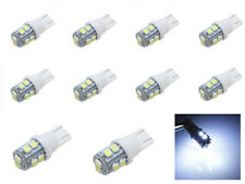 10x T10 W5W 501 10 SMD 3528 LED License Plate Side Light Bulb Pure White DC 24V
