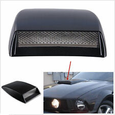 Car Front Bonnet Hood Decorative 3D Simulation Air Flow Intake Scoop Vent Cover