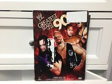 ** WWE Greatest Stars of the 90s (DVD, 2009, 3-Disc Set) ~ Free Shipping!  (D)